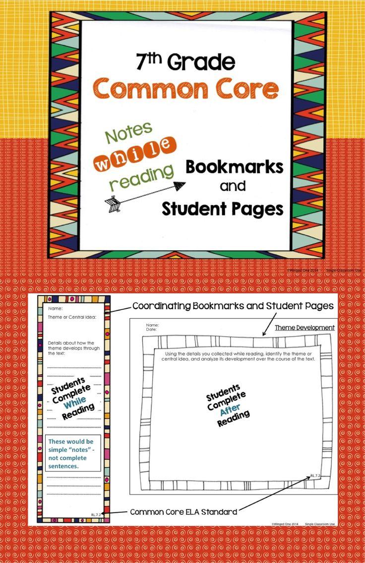 7th Grade Summer Reading Rubric  |7th Grade Heading