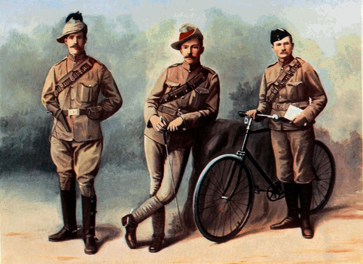 British troops, Boer War