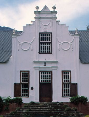 old cape dutch houses