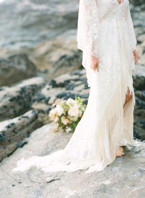 Best at Dusk - Organic Coastal Wedding Ideas | www.weddingsparrow.co.uk | Taylor & Porter Photography
