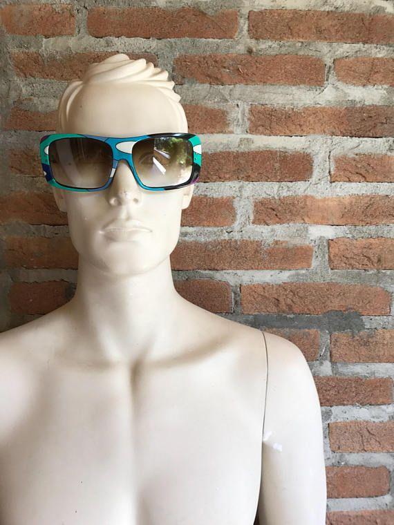 Oversize woman sunglasses Emilio Pucci Vintage 70's