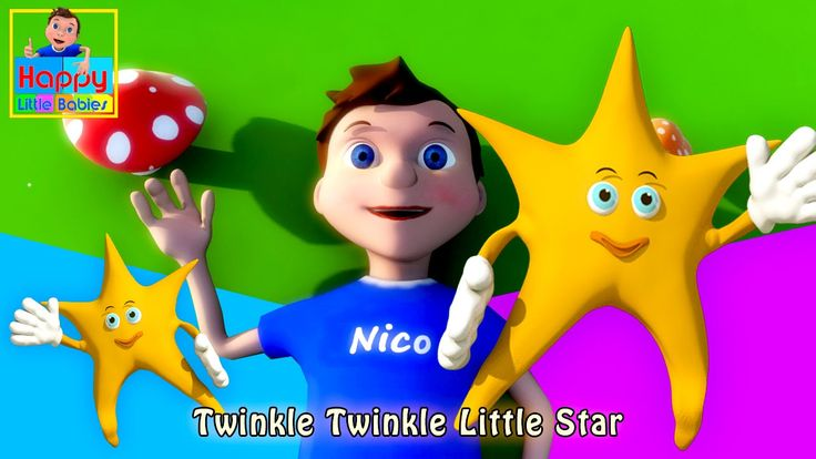 Twinkle Twinkle Little Star | Nursery Rhymes