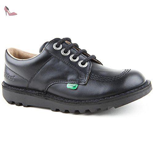 Kickers Kick T Infant Noir Brevet École Chaussures JnDi1tj