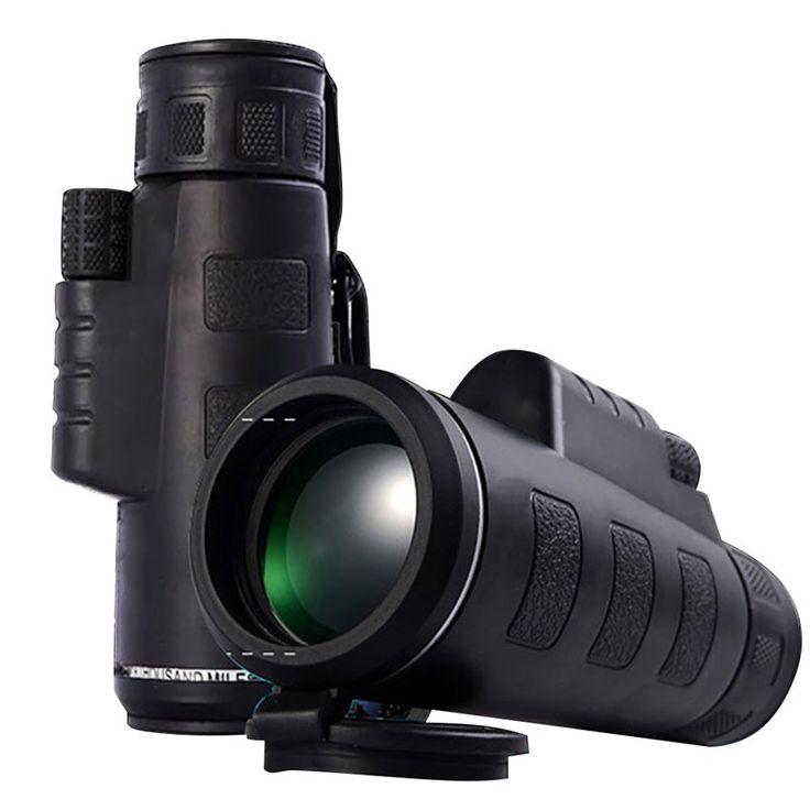 $9.73 (Buy here: https://alitems.com/g/1e8d114494ebda23ff8b16525dc3e8/?i=5&ulp=https%3A%2F%2Fwww.aliexpress.com%2Fitem%2FDay-Night-Vision-40x60-HD-Optical-Monocular-Hunting-Camping-Hiking-Telescope-Hot-Sale%2F32728922012.html ) Day & Night Vision 40x60 HD Optical Monocular Hunting Camping Hiking Telescope Hot Sale for just $9.73