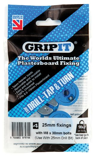 GripIt Fixings - Grip It Heavy Duty Plasterboard Fixings