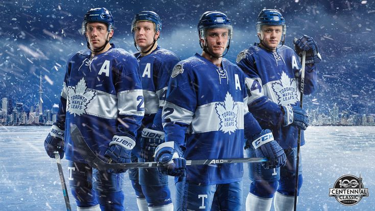 Leafs unveil NHL Centennial Classic uniform