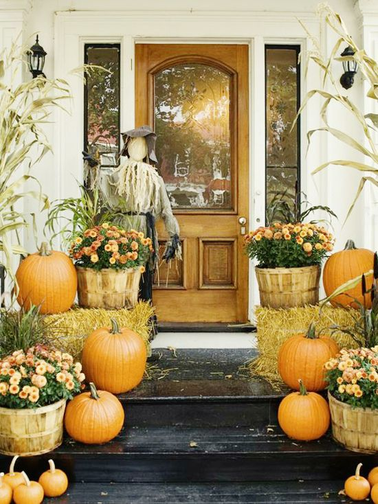1000 ideas about fall porch decorations on pinterest fall decorating white pumpkins and. Black Bedroom Furniture Sets. Home Design Ideas