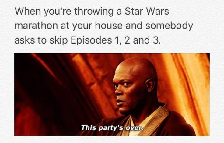 Memes of the Star Wars Prequels <<< Yup, in the weird girl who likes the prequels. #Hayden
