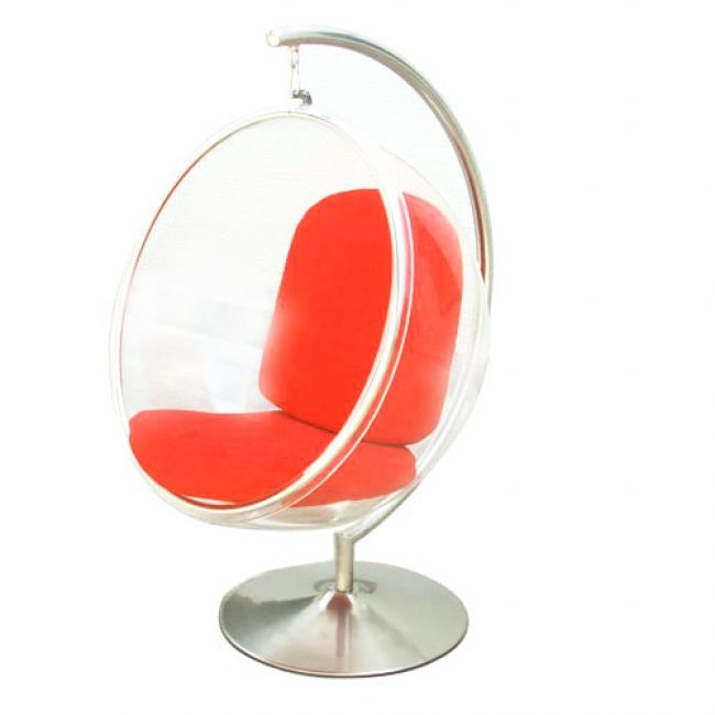 luxury eero aarnio style bubble chair u0026 stand