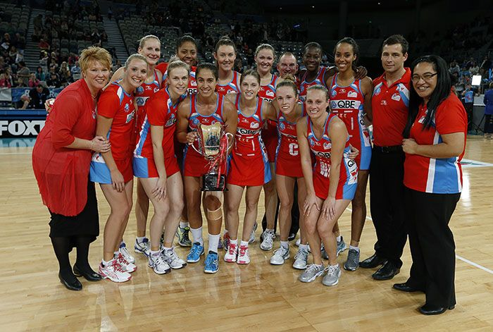 Emotional night for Swifts as they farewell club great - IT'S set to be an emotional evening at the Sydney Olympic Park Sports Centre tonight when the NSW Swifts wrap up their 2013 ANZ Championship season against the EasiYo Tactix.