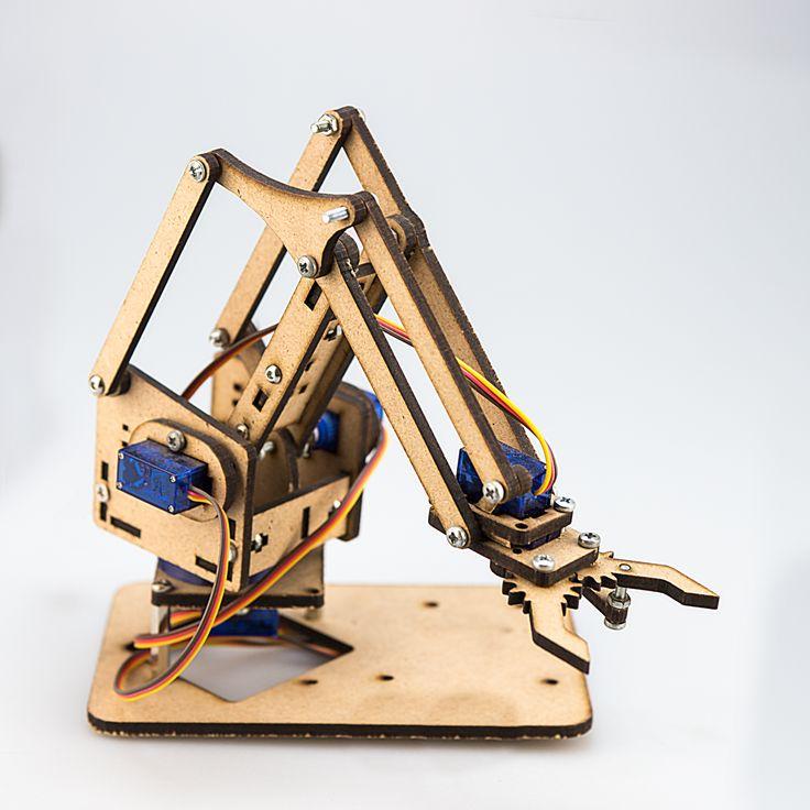 Más de ideas increíbles sobre brazo robótico arduino en