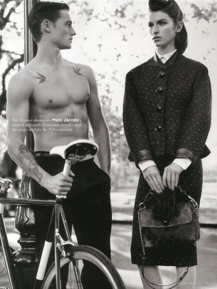 Tali Lennox Sam Lawson for British Vogue.