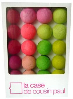 17 best images about guirlande boule on pinterest light string cases and moka - Guirlande boule de couleur ...