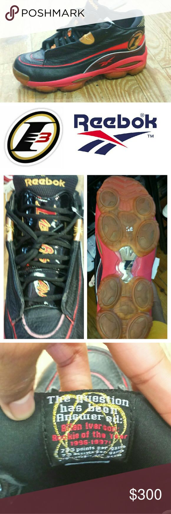 ??Allen Iverson Answer 1 ORIGINAL RETRO! Original collector classic - NOT A RE-RELEASE Pre-owned 10/10 condition  Please contact us before you order or if you have any Questions. No pun intended. Reebok Shoes Sneakers