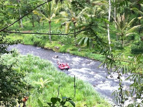 White river rafting in Bali, Indonesia