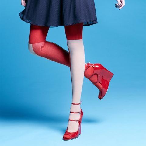 Da-sein Socks: Kaori Over The Knee Socks, Camel - Fab.com