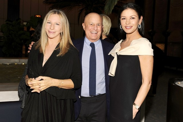 Barbra Streisand Ronald Perelman Catherine Zeta-Jones