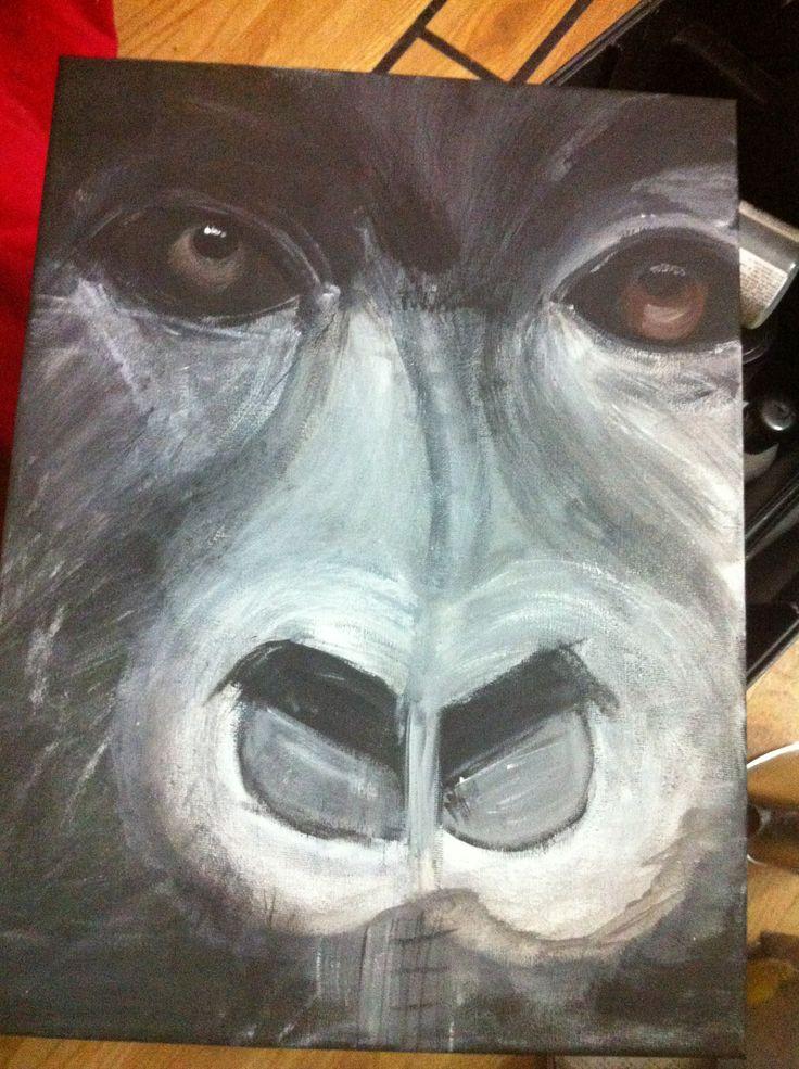 My interpretation of a gorilla