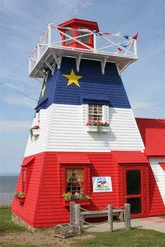 Grande Anse #Lighthouse - New Brunswick, #Canada   -   http://dennisharper.lnf.com/
