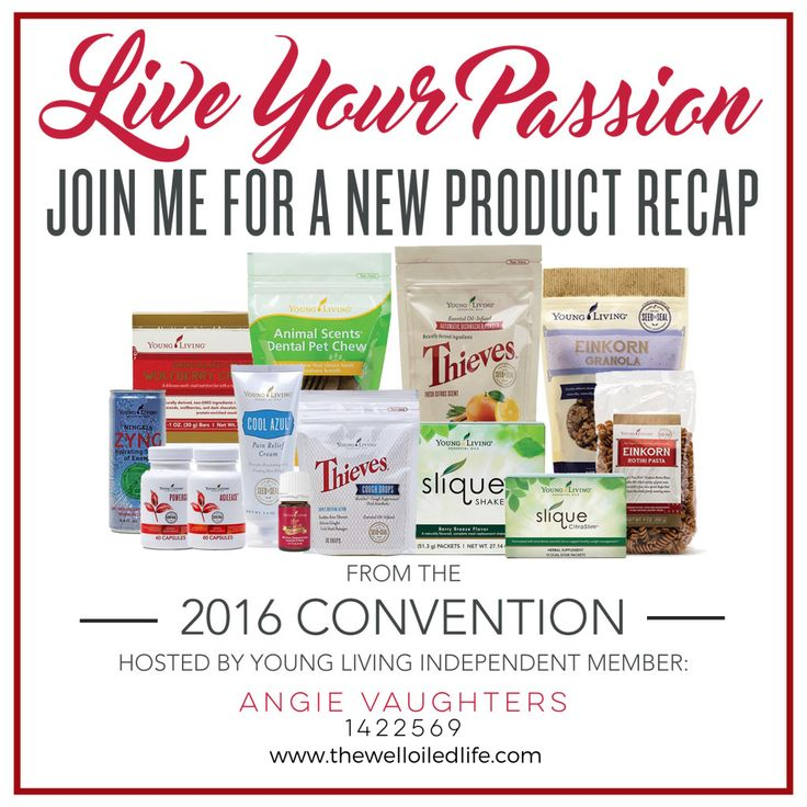 New Young Living Products! | 2016 Convention Product Recap