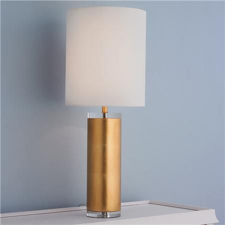tall modern cylinder table lamp table lamps shades and lamps. Black Bedroom Furniture Sets. Home Design Ideas