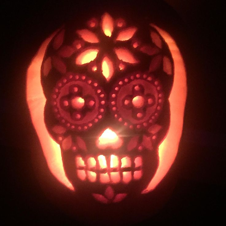 The 25 best sugar skull pumpkin stencil ideas on pinterest sugar skull pumpkin stencil pronofoot35fo Images