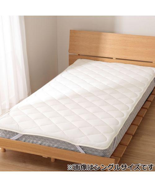 汗を吸ってすばやく乾く。吸水速乾ベッドパッド(NT3) | ニトリ公式通販 ...