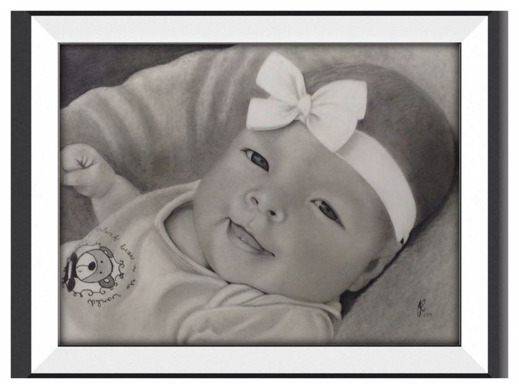 This is a commission I did of a friends daughter Lara.