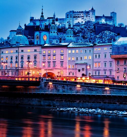 Salzburg, Austria  love it--such amazing streets & delightful history-and nice people