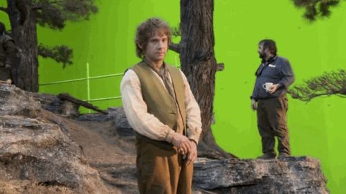 He jokingly and repeatedly gave the middle finger to the camera behind the scenes of The Hobbit. Fans noticed it and it subsequently went big on Tumblr.