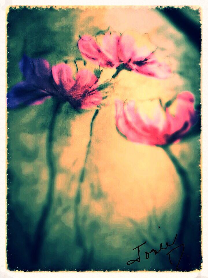 Fleurs aux vent...