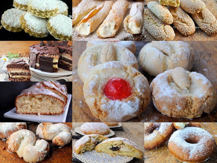 Biscotti e dolci siciliani