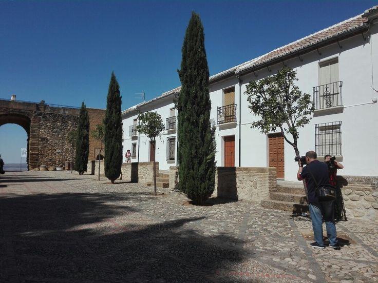 Hoy hemos estado grabado en #AlcalálaReal #Antequera #Écija #Lucena y #PuenteGenil. Pronto os diremos de qué se trata!