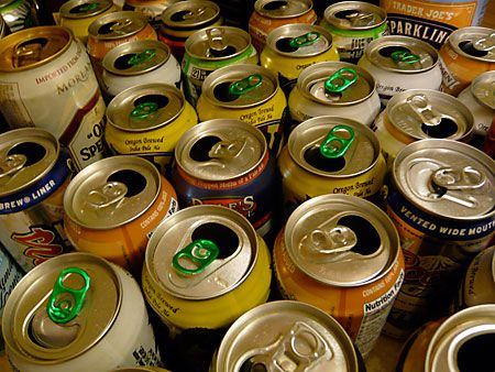 Beer Cans Scene 1