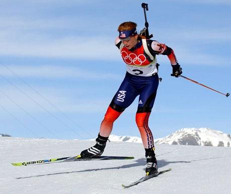 20 Days of Female Sports Photos - Day 5. Biathlon. Join Movement at http://Join.SportsChannelforWomen.com