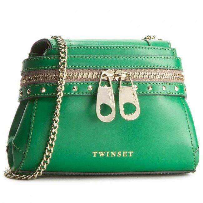 Geantă TWINSET - Borsa AS7PW5 Grass Green 00822
