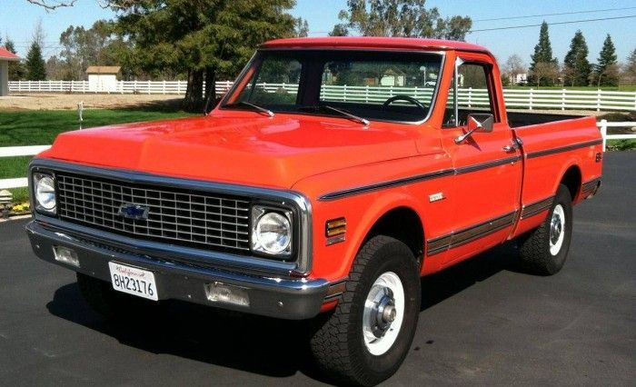 Hemmings Find of the Day – 1972 Chevrolet Cheyenne pickup