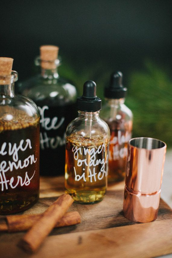 DIY bitters gifts | 100 Layer Cake | Photo by Fondly Forever