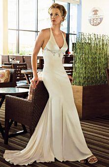 Brides Magazine: Demetrios - Destination Romance : Style No. DR153 : Wedding Dresses Gallery