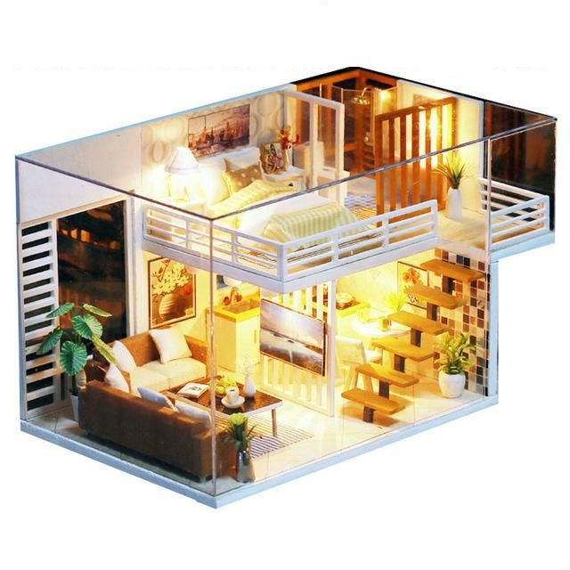 Miniature Doll House Toy In 2019