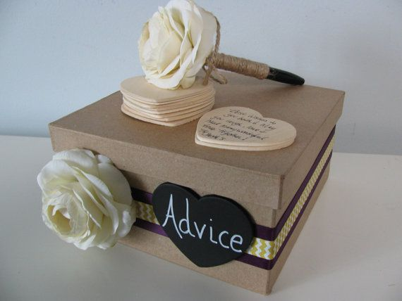 Guest Book Alternative and Guest Book Pen SET by astylishdesign, $55.00