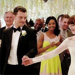 50 sfumature di rosso: le nozze, il primo ballo di Chrystian e Anastasia