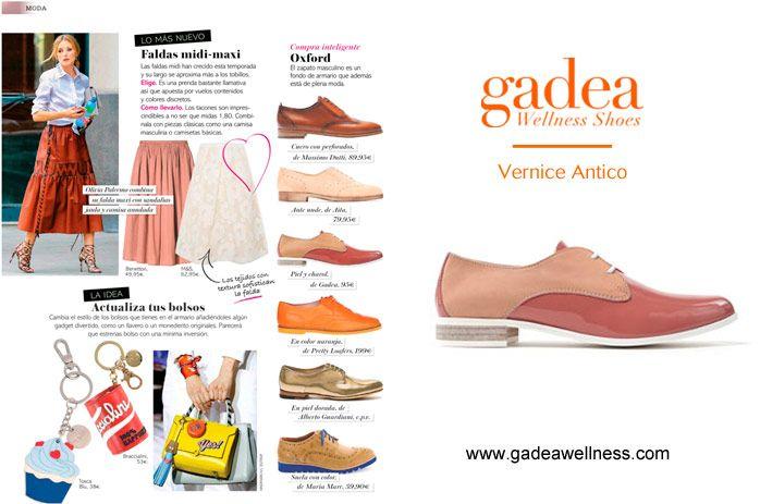 Como publica la Revista Clara, el zapato masculino para la mujer, es #tendencia. Los #GADEA en piel y charol son muy bonitos, y sobre todo, muy, muy cómodos. ¿Te gustan? www.gadeawellness.com