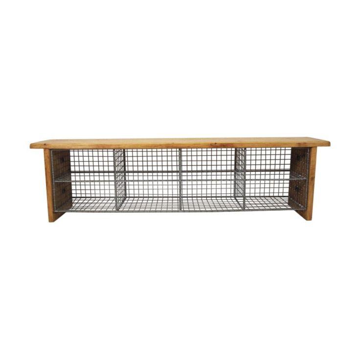 Solid Pine Locker Room Gym Bench