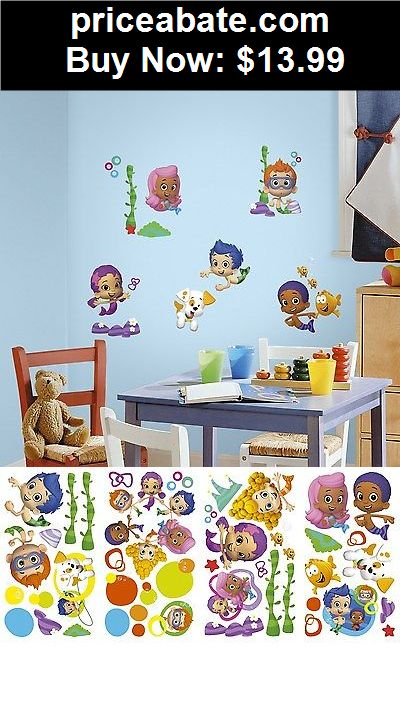 Delightful Kids At Home: New BUBBLE GUPPIES Wall Decals Nickelodeon Stickers Kids  Bedroom Toy