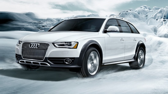 Audi Allroad returns after a 7-yr absence...great for exploring the Arctic region.