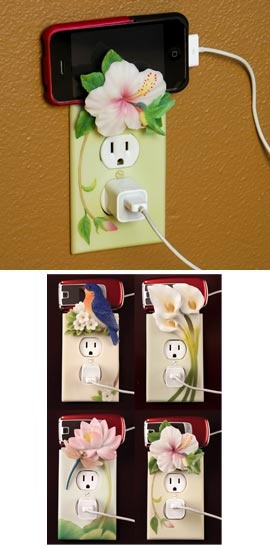 phone charger outlet cover by GANZ