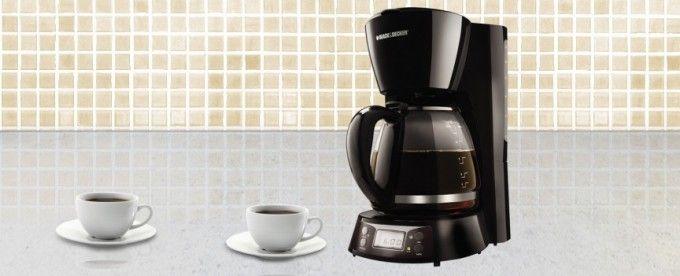 Inicia tu mañana con un estupendo café de grano molido gracias a la cafetera. :)