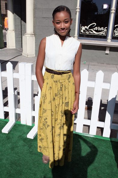"""Amandla Stenberg was born in Los Angeles, California, on October 23, 1998. Her name means """"power or strength"""" in Zulu. Her mother, Karen Brailsford, is African-American, and her father, Tom Stenberg, is Danish (he was born in Copenhagen). Her paternal grandmother was from Greenland and had Inuit ancestry."""