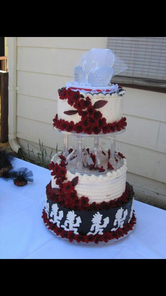 Juggalo Wedding Cake
